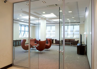 Glass Door - Office Building