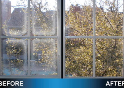 Window Glass Before and After