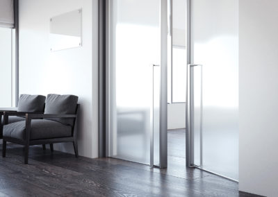 Office Frosted Glass Doors