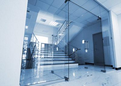 Glass Door - Commercial Building